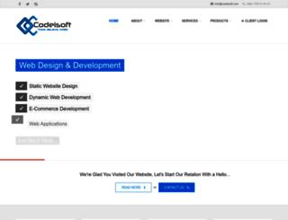 codeisoft.com screenshot