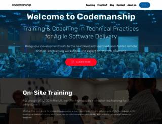 codemanship.co.uk screenshot