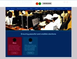 codeoghana.org screenshot