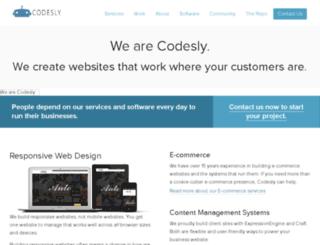 codesly.com screenshot
