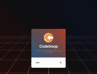 codetroop.com screenshot