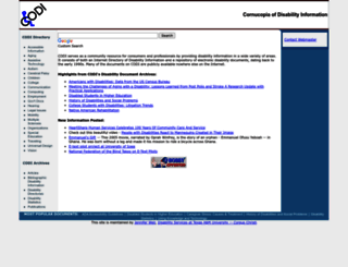 codi.tamucc.edu screenshot