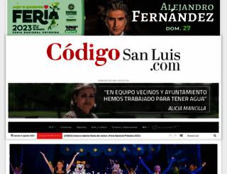 codigosanluis.com screenshot