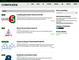 codingeek.com screenshot