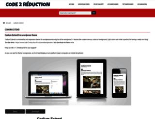 codiumextend.code-2-reduction.fr screenshot