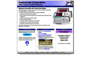 codoncode.com screenshot