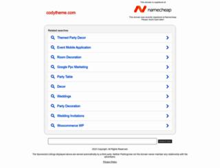 codytheme.com screenshot