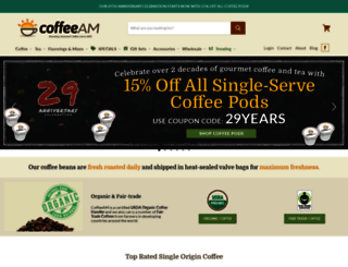 coffeeam.com screenshot
