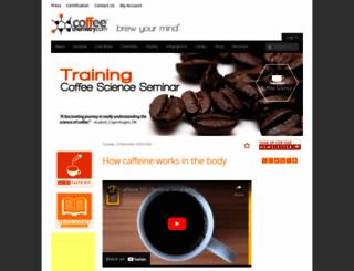 coffeechemistry.com screenshot
