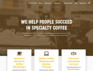 coffeeuniverse.com screenshot