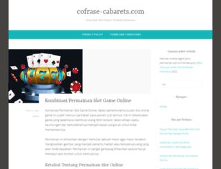 cofrase-cabarets.com screenshot
