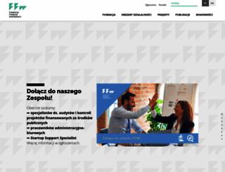 cofund.org.pl screenshot