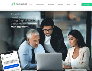 cognicor.com screenshot