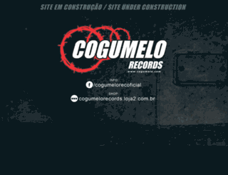 cogumelo.com screenshot