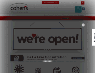 cohens.ca screenshot