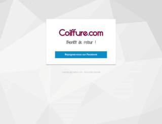coiffure.com screenshot