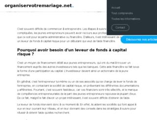 coiffure.organiservotremariage.net screenshot