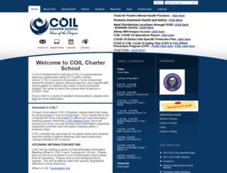 coil.schoolwires.net screenshot