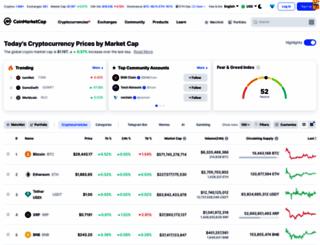 coinmarketcap.com screenshot