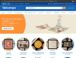 coins.delcampe.com screenshot