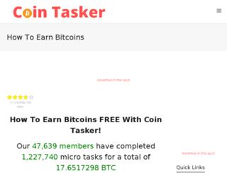 cointasker.com screenshot