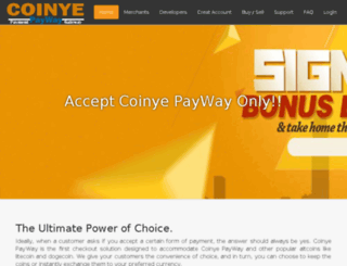 coinyepayway.com screenshot