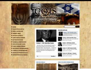 cojs.org screenshot
