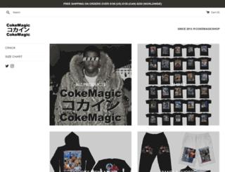 cokemagic.com screenshot