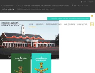 col-walias-ssb-academy.com screenshot