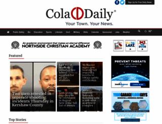 coladaily.com screenshot