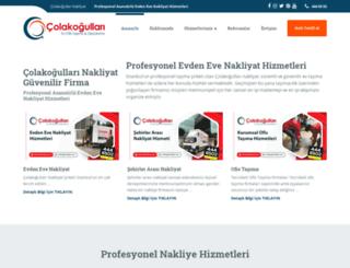 colakogluevdenevenakliyat.com screenshot