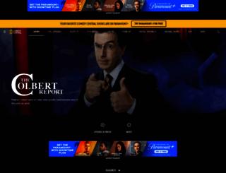 colbertnation.com screenshot