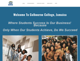 colbournecollege.com screenshot