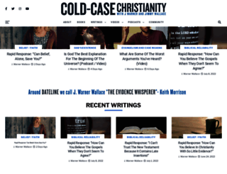 coldcasechristianity.com screenshot