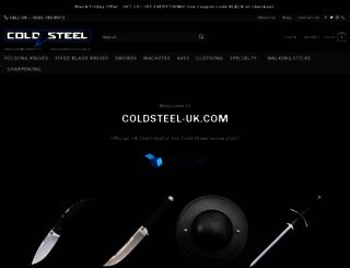 coldsteel-uk.com screenshot