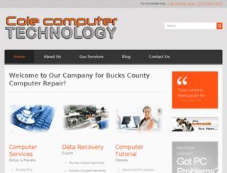colecomputertechnology.com screenshot