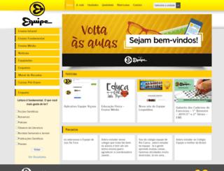 colegioequipe.com.br screenshot