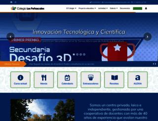 colegiolospenascales.com screenshot
