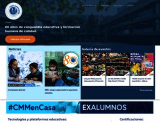 colegiomm.edu.mx screenshot