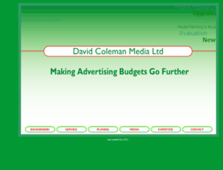 colemanmedia.co.uk screenshot