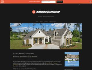 colesqualityconstruction.com screenshot