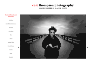 colethompsonphotography.com screenshot