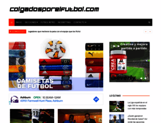 colgadosporelfutbol.com screenshot