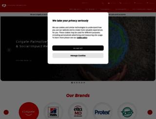 colgate-palmolive.com screenshot