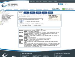 colib.ccc.edu screenshot