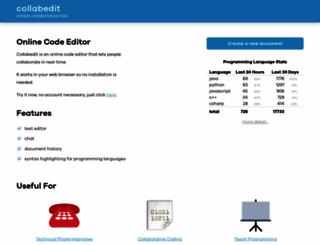 collabedit.com screenshot
