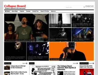 collapseboard.com screenshot