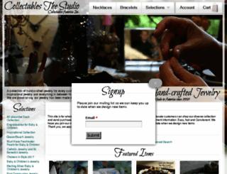 collectablesthestudio.com screenshot