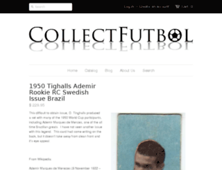 collectfutbol.com screenshot