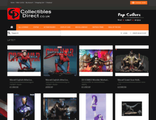 collectiblesdirect.co.uk screenshot